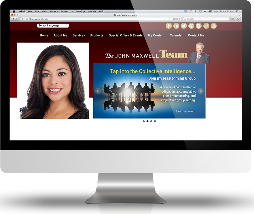 Team Member Website